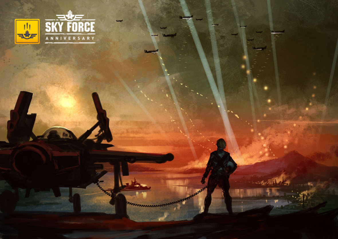 Sky Force Anniversary blasts onto all PlayStation consoles