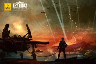 Sky Force Anniversary header