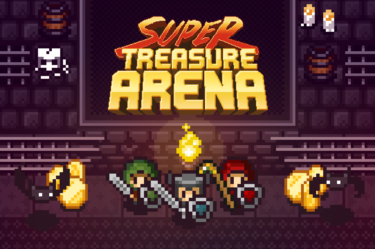 Super Treasure Arena header