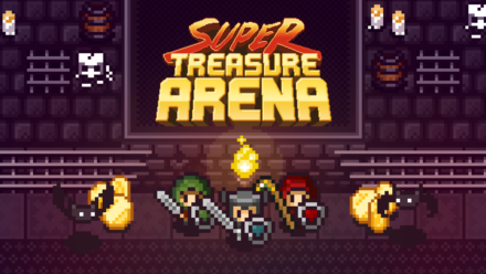 Super Treasure Arena will hit Steam Early Access next Thursday